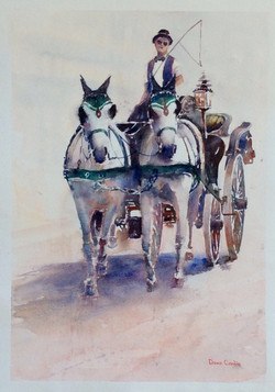 Carriage ride Vienna