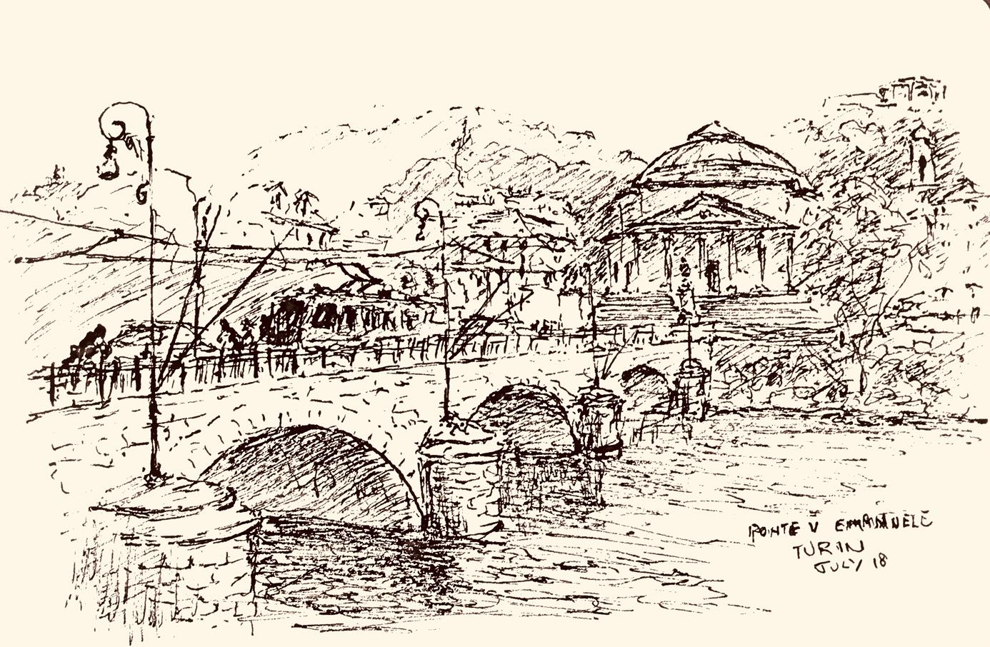 Ponte Emanuelle II Turin