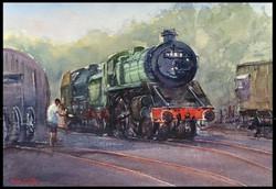 Grosmont Station Engine