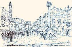 Verona Plaza Erbe