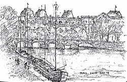 Paris Siene river