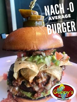 Guppys Nacho Burger