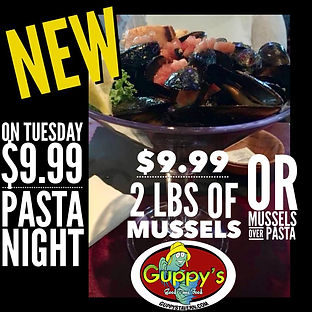 GUPPYS MUSSELS ON TUESDAY.jpg