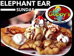 Elephant Ear at Guppys