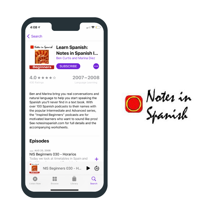 Notes in Spanish Podcast