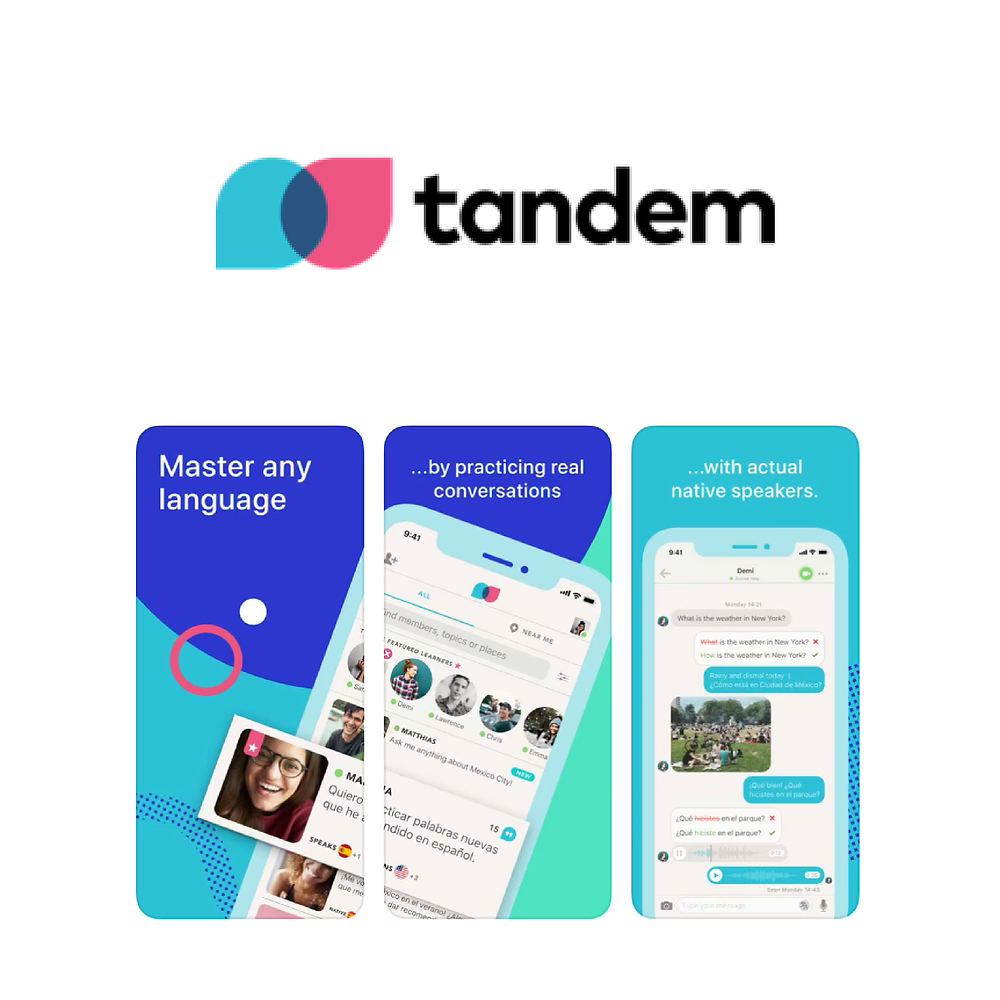 Tandem. Apps to Learn Spanish with Natives