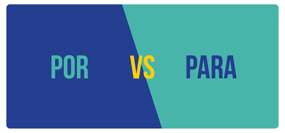 Learning the differences between por and para can be difficult at first. In this article, we are going to study each use extensively.