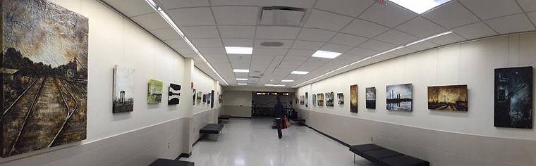 Kellie McDermott art Columbus Airport exhibition