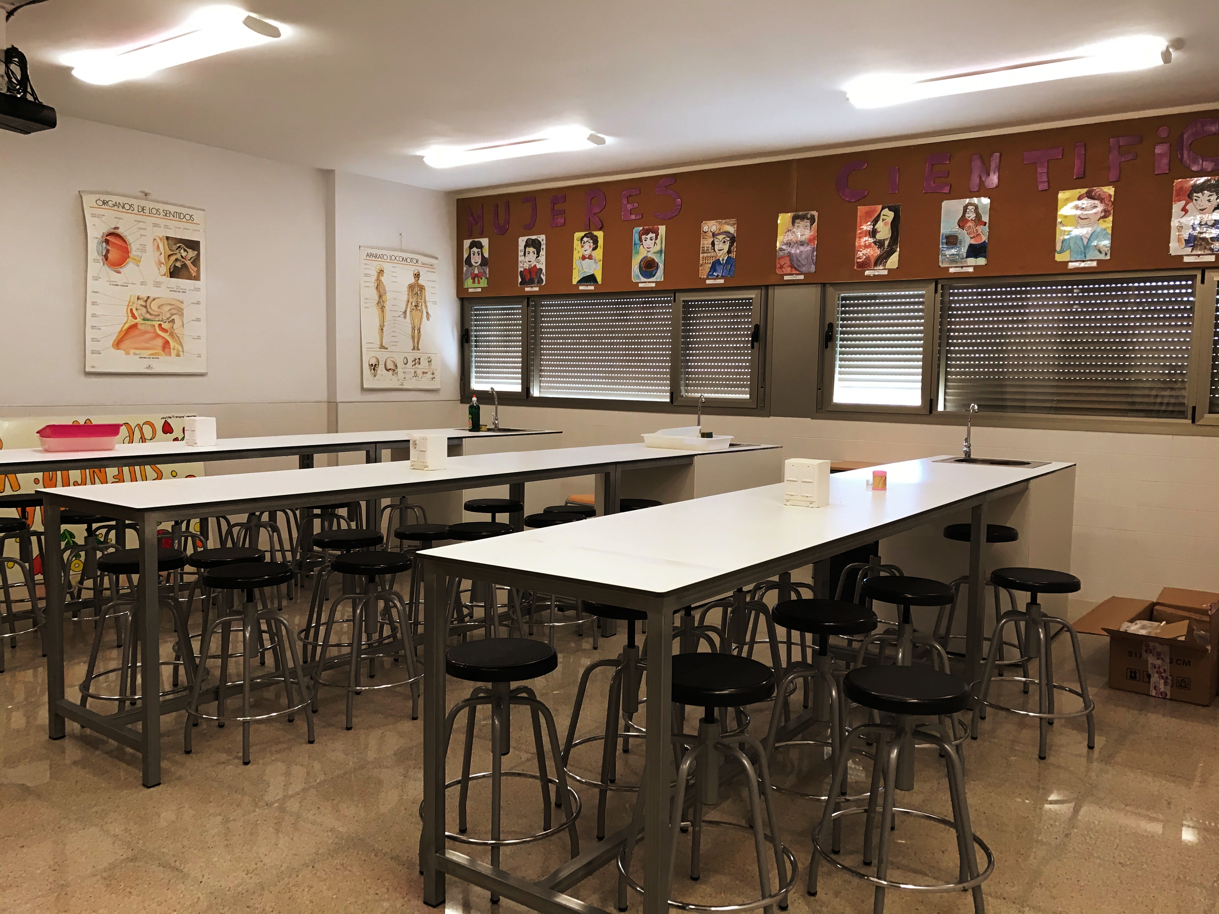 Laboratorio secundaria 2