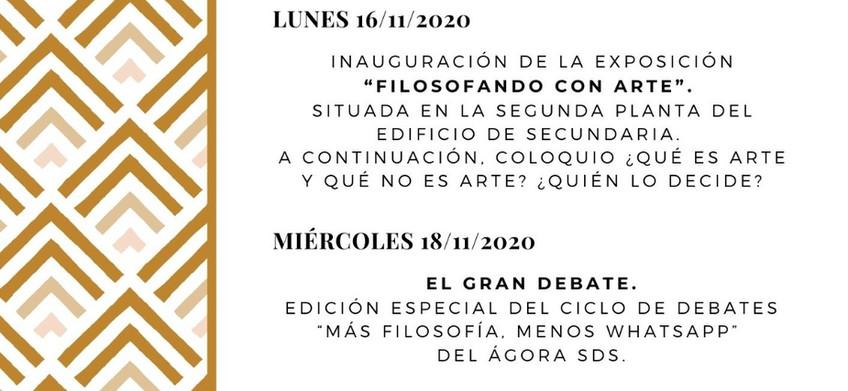 I Semana de la Filosofía SDS