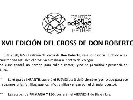 XVII Cross D. Roberto y campaña de Cruz Roja Navidad 2020