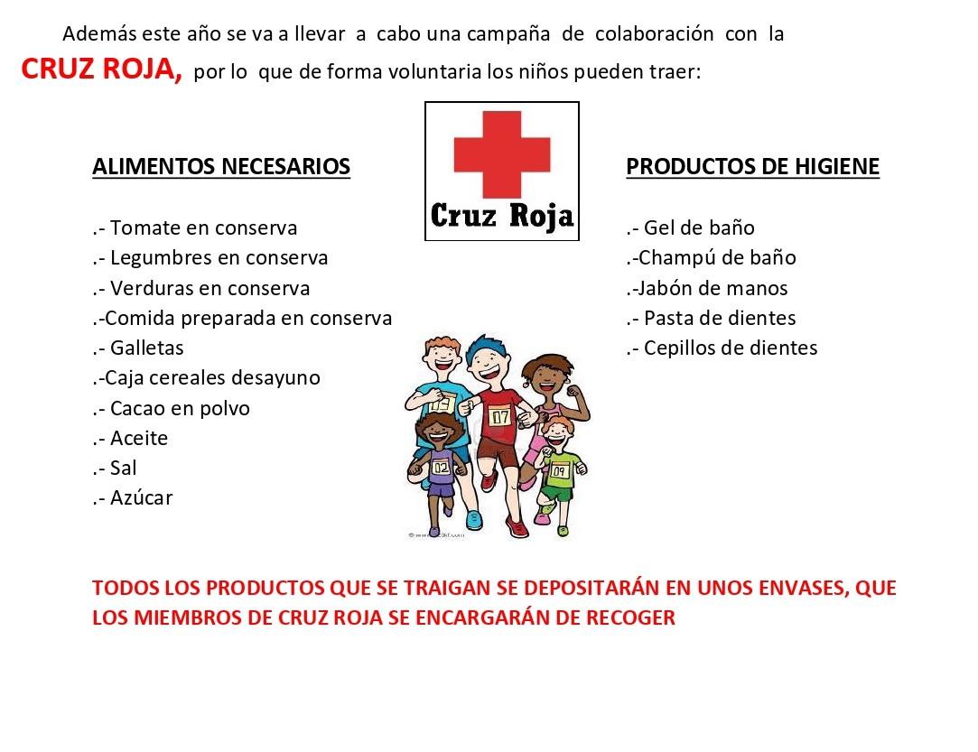 Cross D. Roberto con Cruz Roja en la campaña Navidad 2020