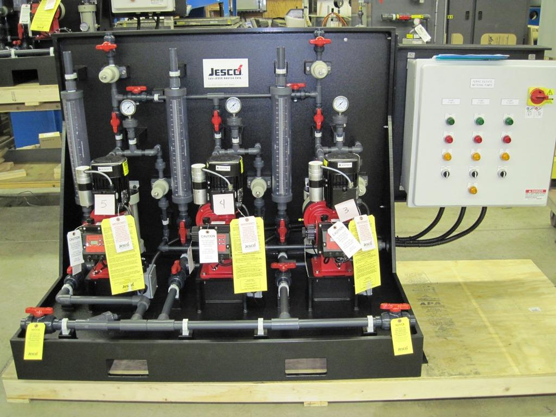lutz jesco america chemical feed systems
