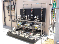 metering_pump_system_stainless_containment_tray_hdpe_installed