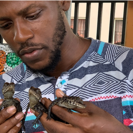 Chinedu Mogbo, Greenfingers Wildlife Conservation Initiative