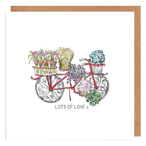Love Bike card