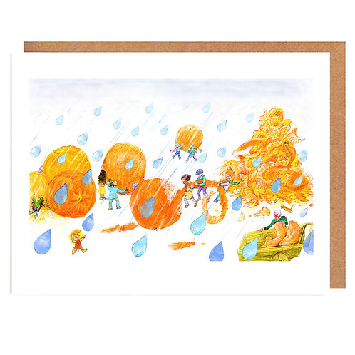 Orange Openers card