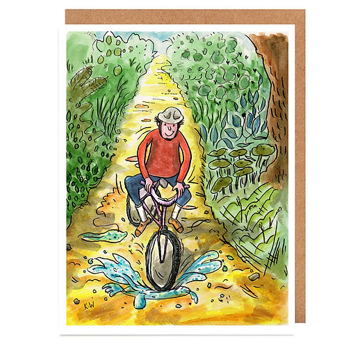 Cycle ride card