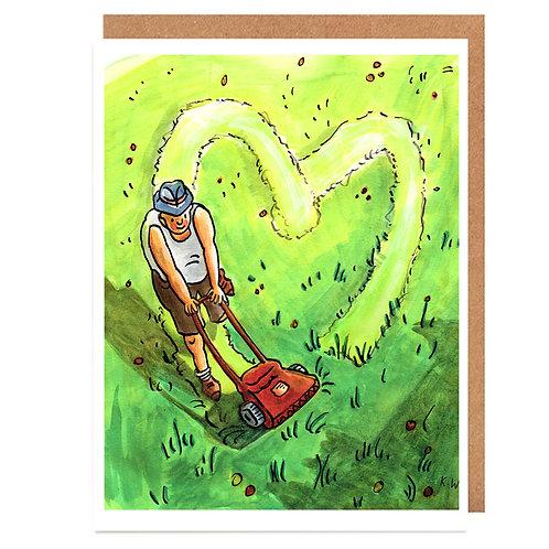 Lawn love card