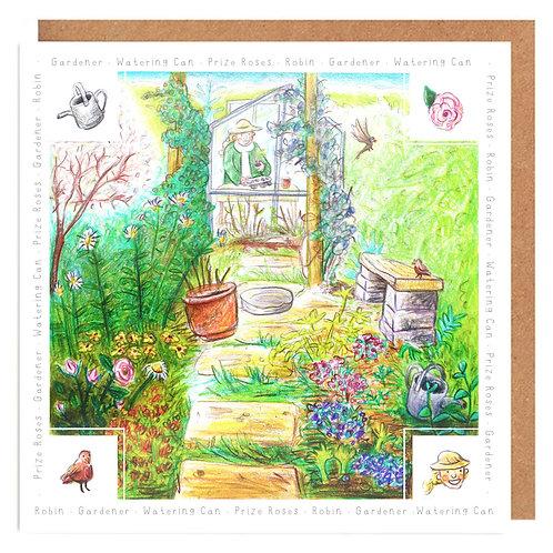 Garden Spot card