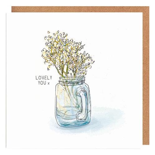 Jam Jar Love card
