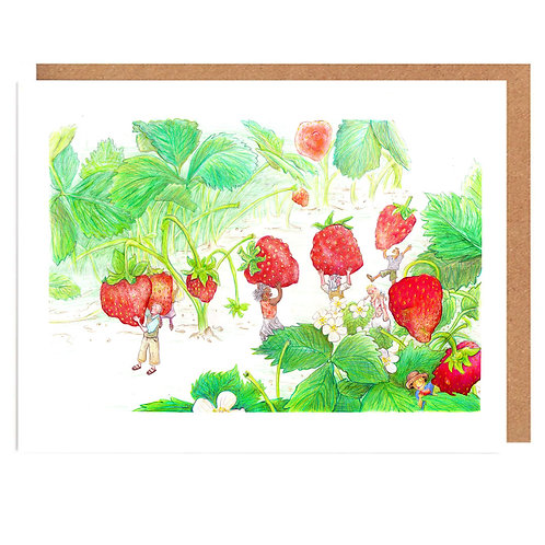 Strawberry Springers card