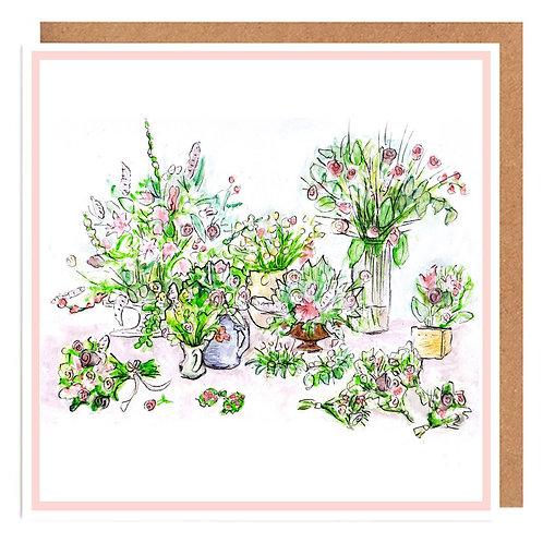 Bountiful Bouquets card