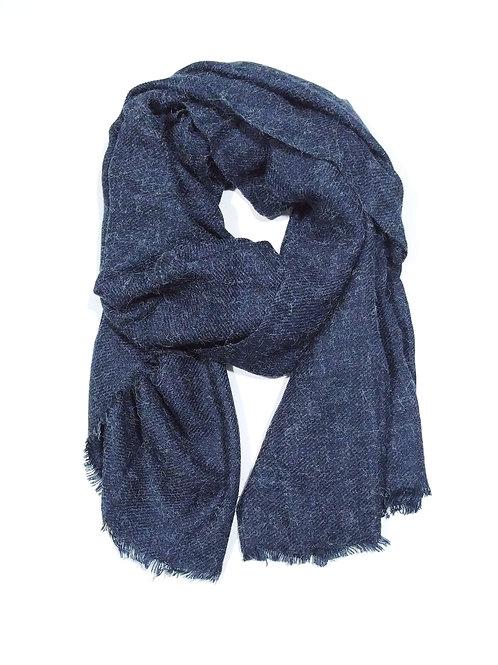Bufanda invierno azul marino