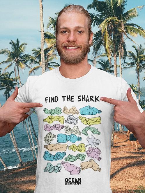 Camiseta Find the Shark