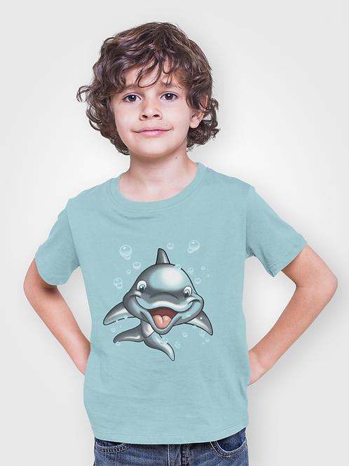 Camiseta Infantil Delfín