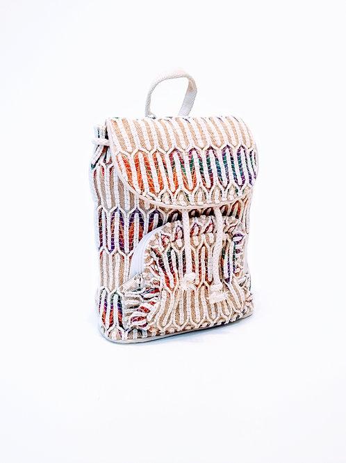 Mochila artesanal GOA de tejido natural
