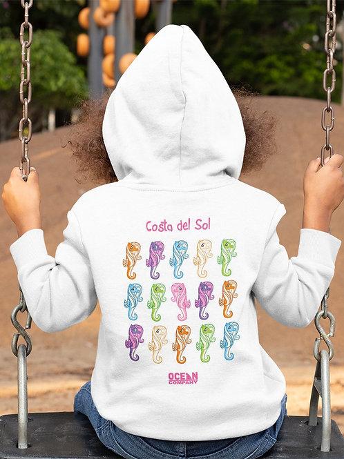 Sudadera Infantil Caballitos de Colorines