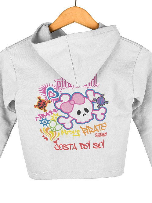 Sudadera Infantil Pirate Girl