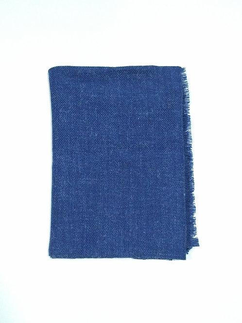 Bufanda de invierno azul