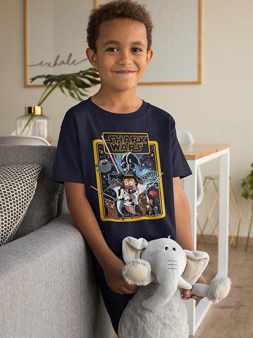 Camiseta Infantil Shark Wars