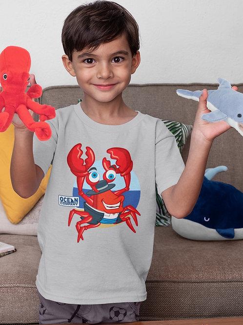 Camiseta Infantil Cangrejo Rumbero