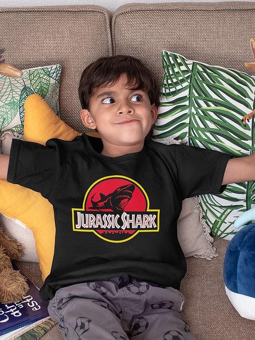 Camiseta Infantil Jurassic Shark