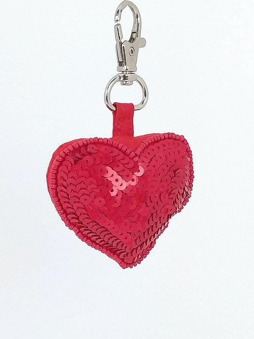 Llavero Corazón Rojo