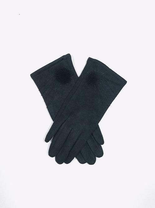Guantes de invierno negro