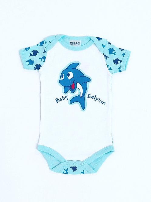 Body Bebé Delfín