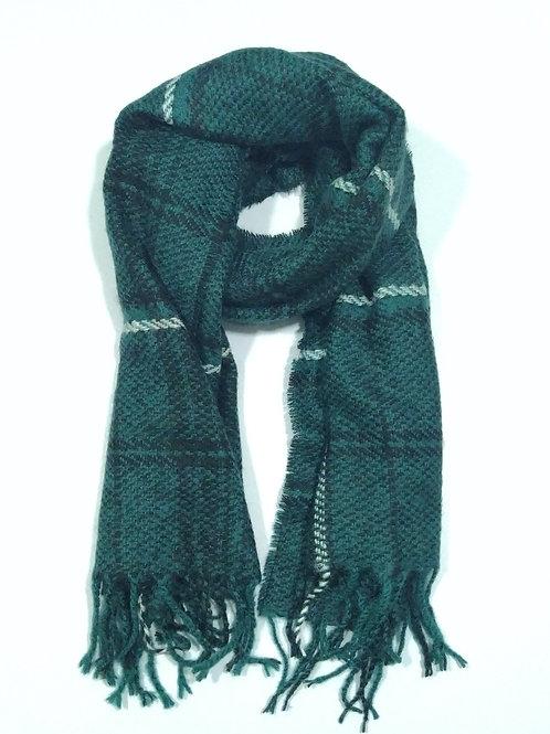 Bufanda de invierno dark green