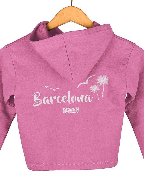 Sudadera Infantil Barcelona