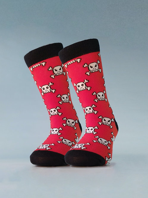 Pack de 2 pares de Calcetines Pirate Rojo