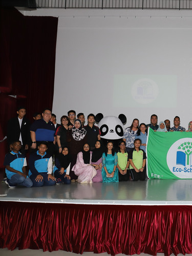 Eco-Schools Champion Awards and field tr