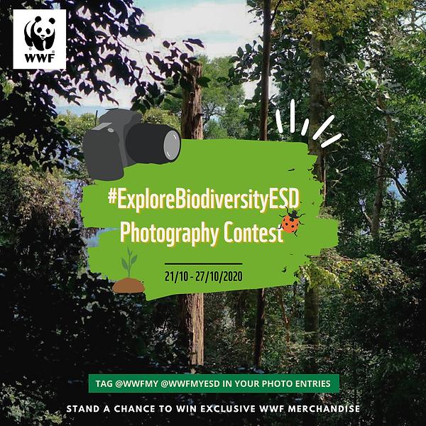 #ExploreBiodiversityESD Contest poster.p