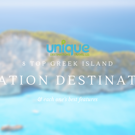 8 Top Greek Island Vacation Destinations