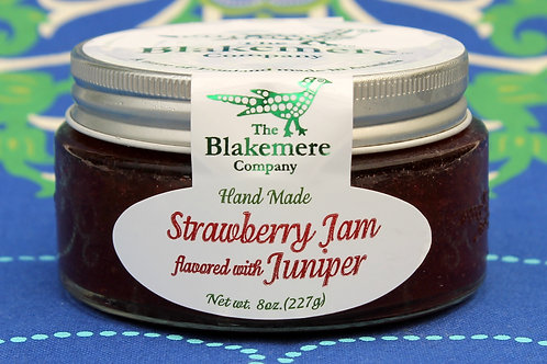 Strawberry Jam flavored with Juniper