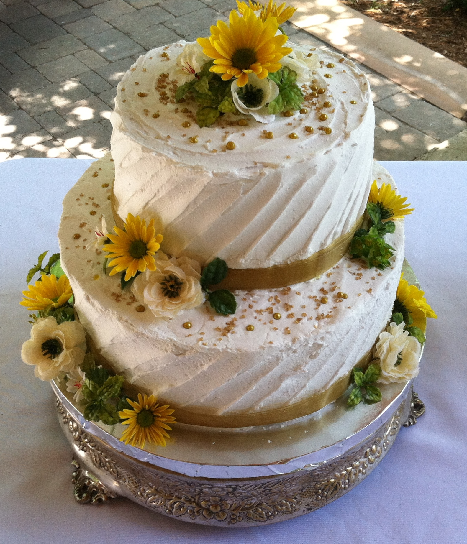 English Wedding Cake for Janet