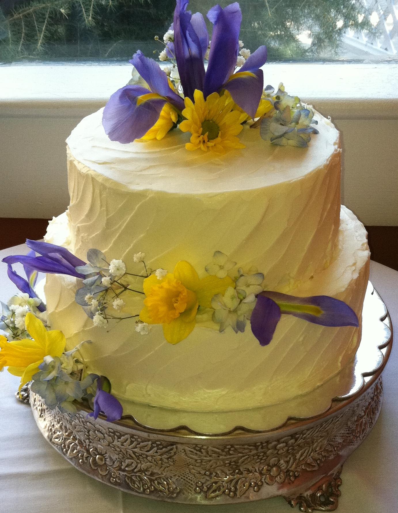 Blakemere White Chocolate Berry 2 Tier Celebration Cake