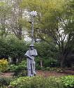 Standing man, Hahn Garden.